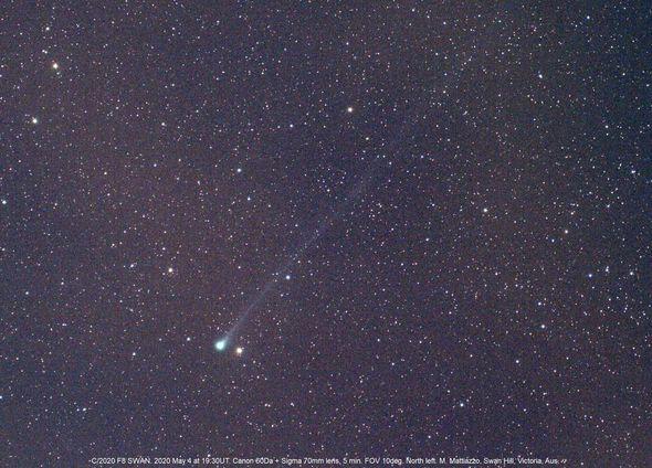 komet SWAN