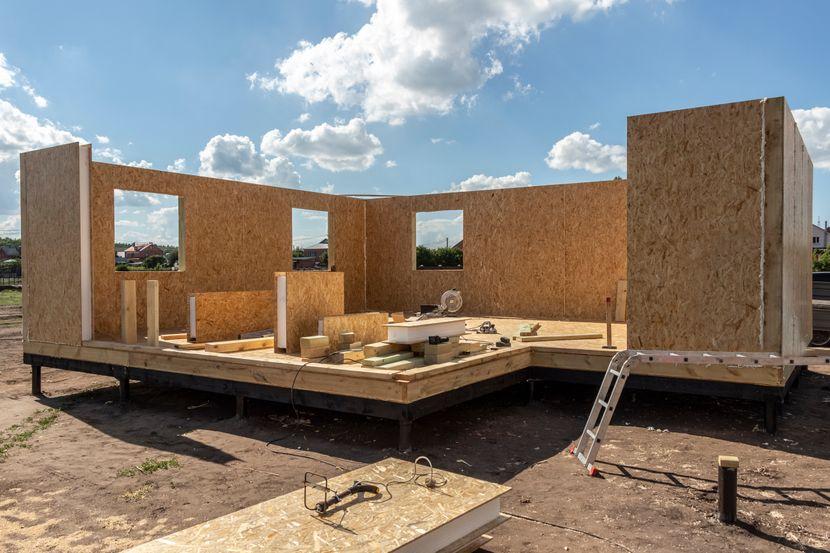 kuca u izgradnji